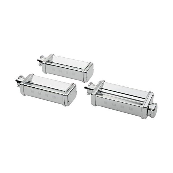 Smeg SMPC01 Pasta Roller & Cutter Set, Silver 1
