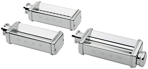 SMEG SMPC01 Pasta Roller & Cutter Set, Silver by Smeg