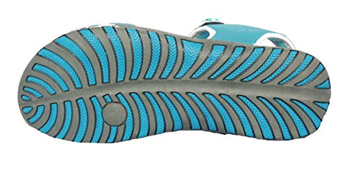 Mujer Northwest Territory Memphis playa senderismo Sandalias Acero Azul / gris claro