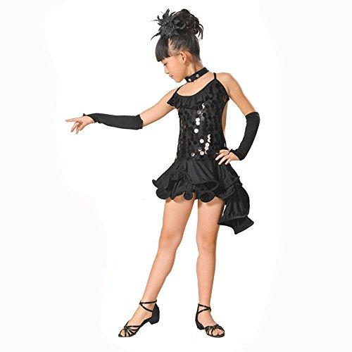 Pageant Cerimonia Abiti Cosplay Bambini Nero1 Compleanno Abito Per Lungo Ragazze Sera Arcobaleno Carnevale Ballerina Fiore Festa Zarupeng Battesimo Vestito Nozze Ragazze xnwaWOSpqW