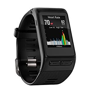 Garmin 010 01605 10 Vivoactive HR GPS Smart Watch, Southern Europe, X Large Fit Black