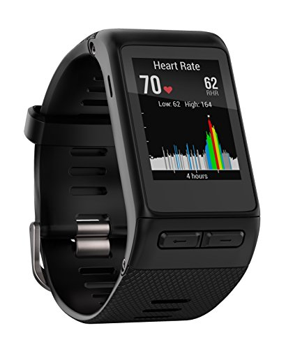 Garmin Vivoactive HR GPS Smart Watch, WW, Regular Fit - Black Garmin