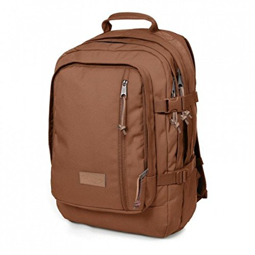 Eastpak Volker Polyester Brown backpack - backpacks (Polyester, Brown, Front pocket, Zip pocket, Click buckle, Zipper, 340 mm)