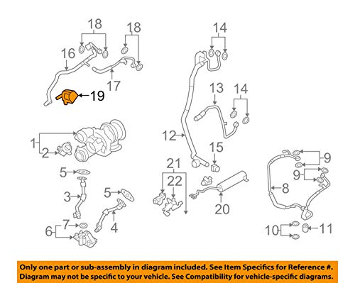 BMW 11-51-7-629-916 Geniune Auxiliary Water Pump:115010 by BMW (Image #4)