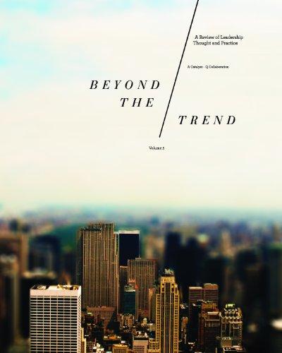 Catalyst Groupzine: Beyond the Trend