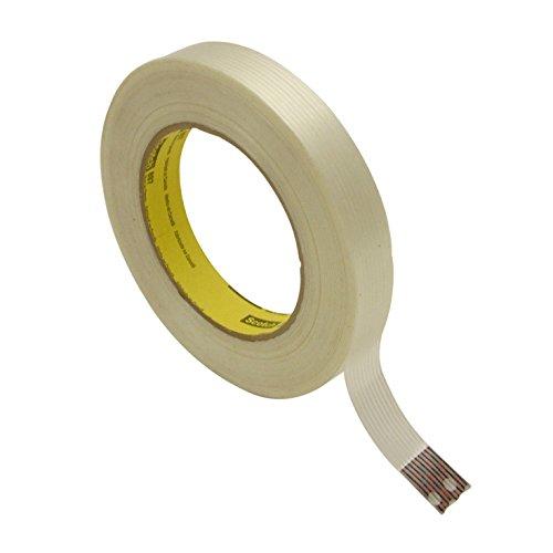 3M BULK 897 Scotch 897 High Performance Filament Tape, 3/4
