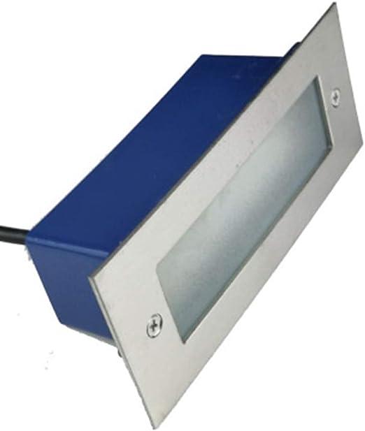 Foco Empotrable Luces De Escalera Impermeable Luces Del Acero Inoxidable Luz Solar Panel Solar Noche Armario Habitación Pasillos Jardín Escaleras[Clase De Eficiencia Energética A++]: Amazon.es: Iluminación
