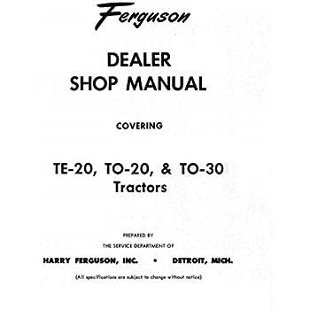 amazon com  1948 1949 1950 1951 ferguson to20 tractor