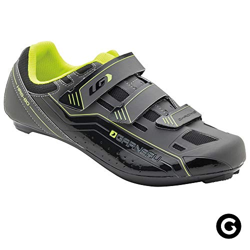 Louis Garneau Unisex Chrome Bike Shoes for Commuting and Indoor Cycling, Compatible with SPD, Look and All Road Pedals, Bright Yellow, US (9), EU (42)