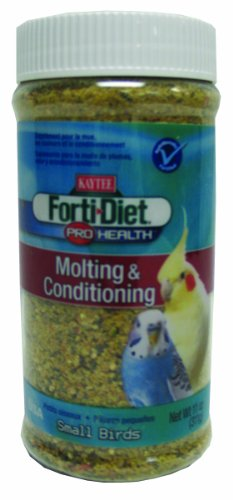 Kaytee Products Inc 100503064 Forti Diet Pro Health Molting   Conditioning Small Birds 11 Ounce