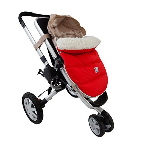 7AM Enfant Lamb Pod Cover for Strollers and Car-Seats, Red Small/Medium by 7AM Enfant