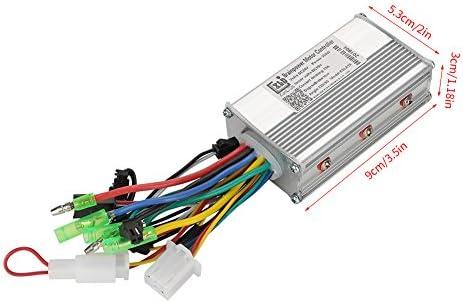 Alomejor Controlador eléctrico sin escobillas del Controlador 24V ...