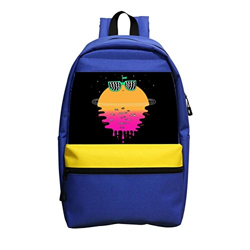 Happy Sunset Porky Student Backpack School Bag Cool Boys Super Bookbag Break