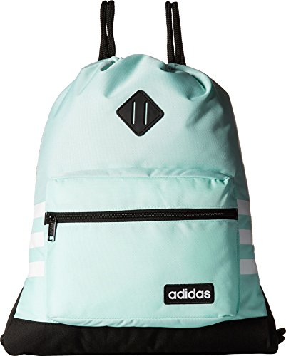 (adidas Classic 3S Sackpack, Clear Mint, One)