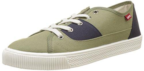 Malibu Levi's Verde Green Dark Sneaker Uomo xFddwnqBY