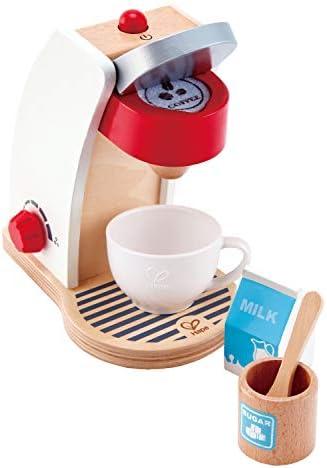 Hape International- Meine Kaffeemaschine Set Cafetera para Cocinitas, Multicolor (E3146): Amazon.es: Juguetes y juegos
