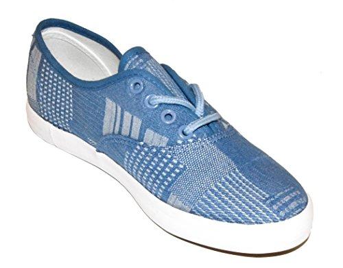 BTS - Zapatillas de running de tela para mujer Multicolor - Blau/ Grau