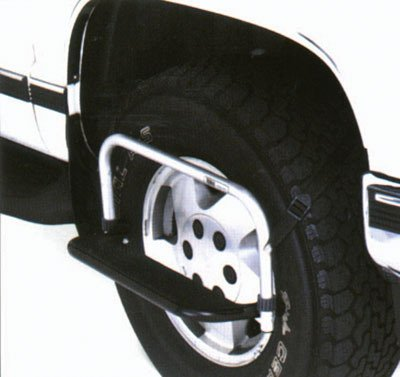 Top Line TH2100 Tire-Hopper, Tire Step (Folding Tailgate Step)