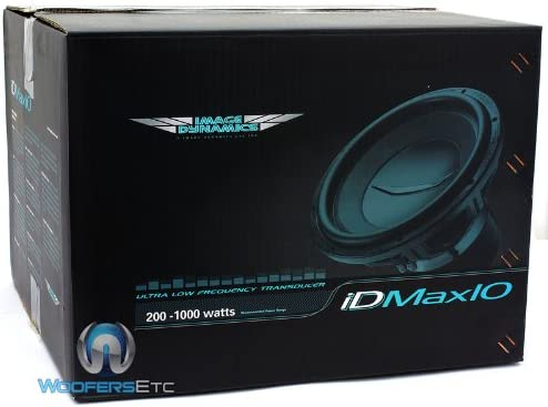 Image Dynamics 10 1800W Peak Dual 2-Ohm IDMAX V.4 Series Subwoofer IDMAX10 V.4 D2