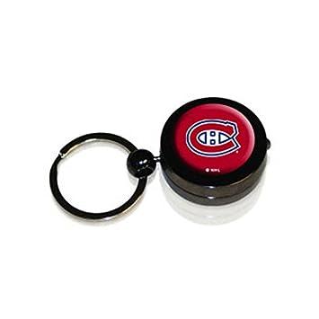 Hockey Puck linterna llavero, Montreal Canadiens: Amazon.es ...