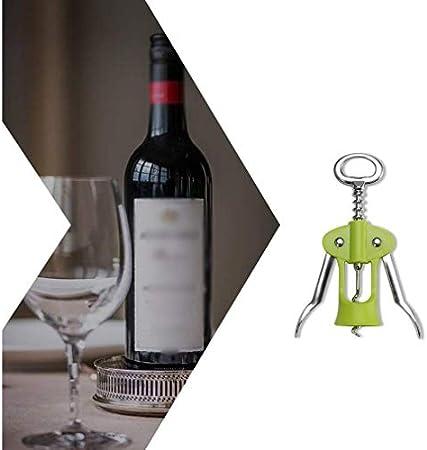 N\A ala sacacorchos abrelatas del Vino, camareros del sacacorchos Corcho y Botellas de Cerveza del abrelatas de Casquillo removedor, Utilizado en la Cocina del Restaurante (Color : -, Size : -)