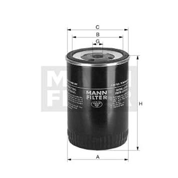 Mann Filter WK6126 Kraftstofffilter