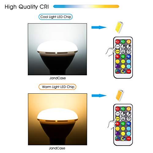 Amazon.com: JandCase BR30 RGB LED luces de inundación, 100 W ...