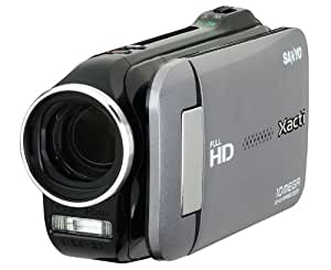Sanyo VPC-GH4 Full HD 1080 Camcorder with 10X Dual Range Zoom (Charcoal) (Discontinued by Manufacturer)