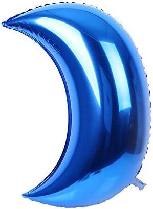 風船 バルーン 36インチ 月 大きい 大型 ウェディング クリスマス アルミ箔 装飾(空気圧ツールは含まない) 結婚式 祝日 60.0*30.0cm