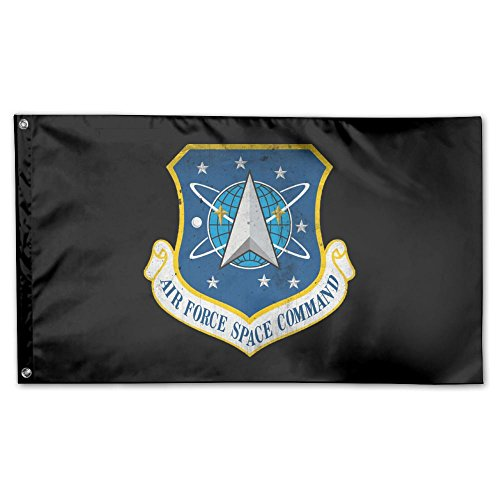 (UDSNIS Dnue Air Force Space Command Garden Flag 3 X 5 Flag For Holiday Seasonal Decor Banner)
