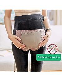 e4a3ba512 Fad-J Leggings de Maternidad Gruesa de Las Mujeres Polainas de Maternidad  Anti-radiación