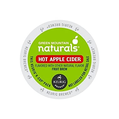 Green Mountain Naturals K-Cups, Hot Apple Cider, 96 Count