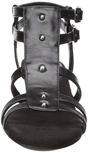 A2 by Aerosoles Black Sandal Women Mayor Wedge OnOrwSxq18