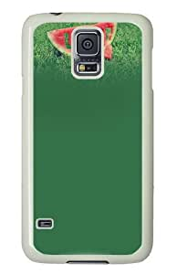 Samsung Galaxy S5 Case and Cover - Love Watermelon PC Hard Case Cover for Samsung Galaxy S5 White
