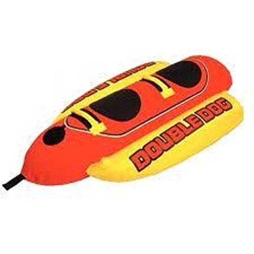- New Airhead 2 Rider Double Dog Towable Boat Tube Air Hd2
