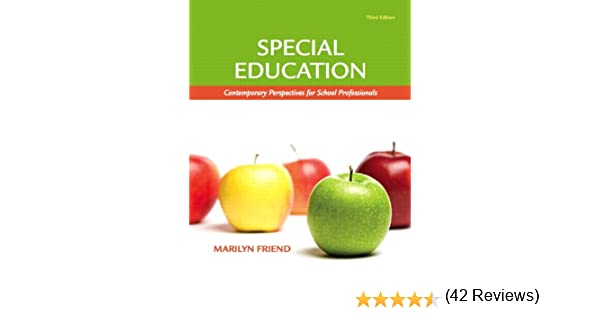 Special Education: Contemporary Perspectives for School ...