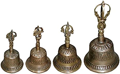 Tisch-Glocke Buddha Glocke Bronze