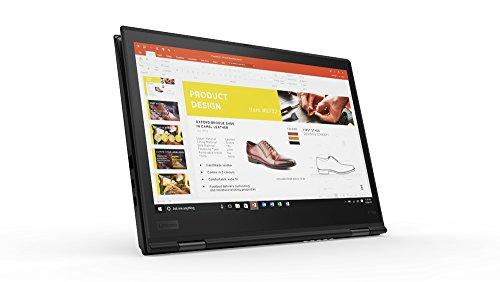 "Lenovo 20LD001FUS Thinkpad X1 Yoga 20LD 14"" Flip Design Notebook - Windows - Intel Core i7 1.9 GHz - 16 GB RAM - 512 GB SSD, Black"