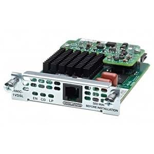 Cisco EHWIC-VA-DSL-A= - Módulo de conmutador de red (VDSL2/ADSL/2+) para Cisco 1900, 2900, 3900
