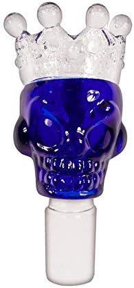Formax420 tazón de vidrio de borosilicato de la corona, vidrio, azul, 18 mm