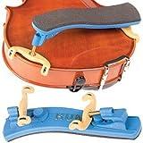 Kun Collapsible Mini Blue Shoulder Rest for 1/16 - 1/4 Violin