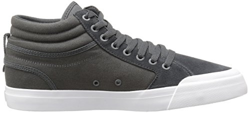 DC - - Männer Evan Smith Hallo S Skate-Schuhe, EUR: 38, Dark Grey/White