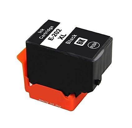 1 cartucho de tinta negra compatible con impresoras Epson 202 202 ...