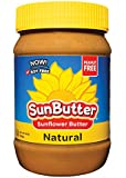 SunButter Natural Sunflower Seed Spread, 16 oz Plastic Jars