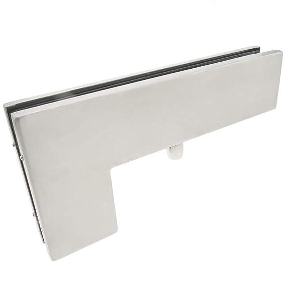 PrimeMatik - Pernio y bisagra L-Fija Superior de Aluminio ...