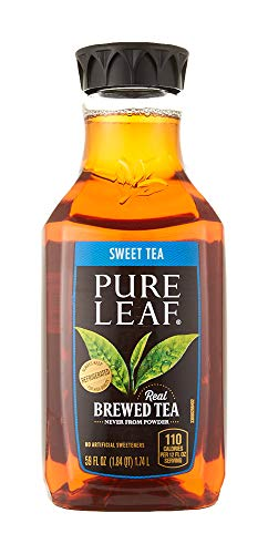 Pure Leaf Iced Tea, Sweet Tea, Black Tea, 59 oz