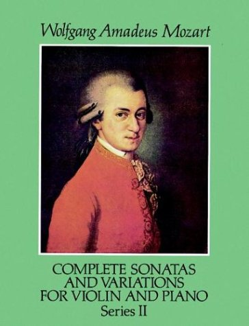 Complete Sonatas and Variations for Violin and Piano, Series II by Dover Publications