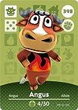 Angus- Nintendo Animal Crossing Happy Home Designer Series 4 Amiibo Card -398