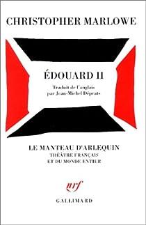 Edouard II par Marlowe