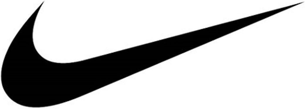Nike Dri-Fit Classic Cushioned Crew Socks 6 Pair White Black Swoosh Logo YOUTH MEDIUM 5-7